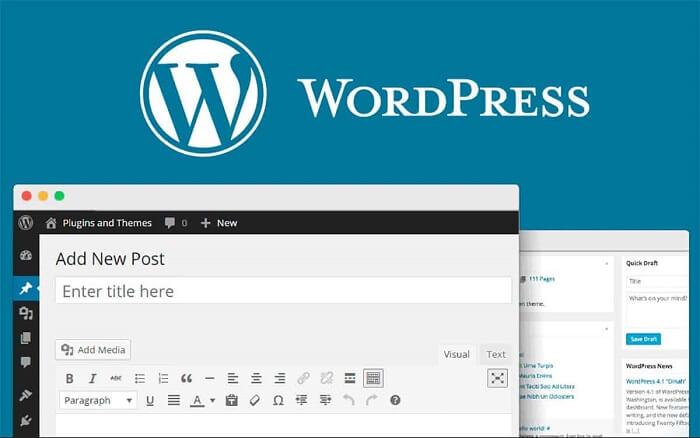 WordPress trong thiết kế website