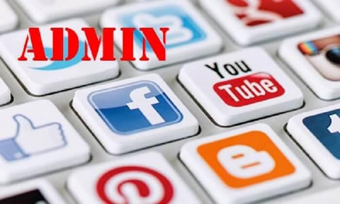 Admin Facebook là người tạo ra các fanpage, groups