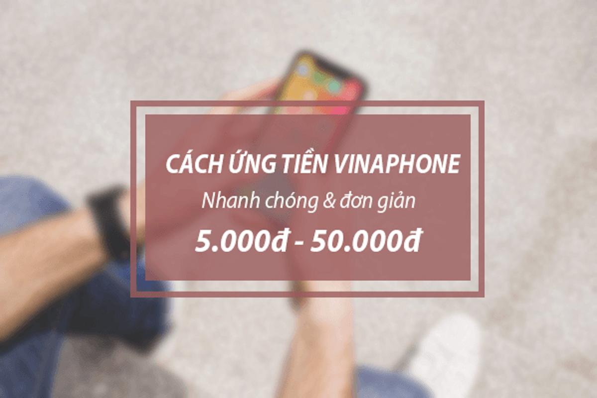 Cách ứng tiền Vinaphone cực đơn giản và nhanh nhất - Backyardjungle