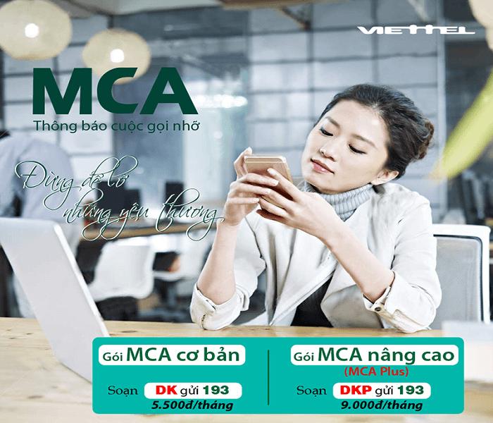 iettel đang triển khai hai gói cước MCA làMCA cơ bảnvàMCA nâng cao